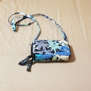 Vera Bradley wallet with shoulder straps